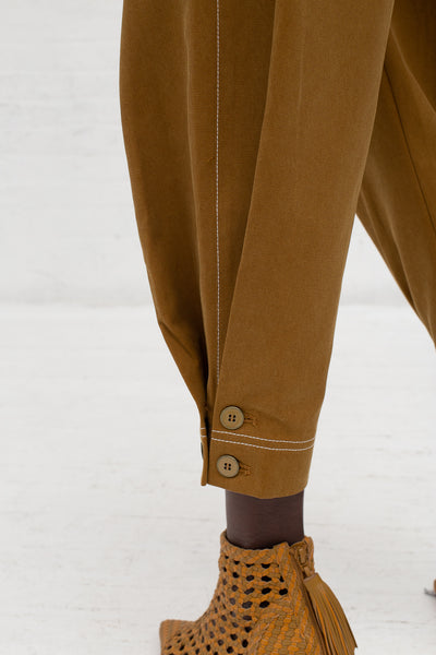 Ulla Johnson Fleet Pant in Olive | Oroboro Store | New York, NY