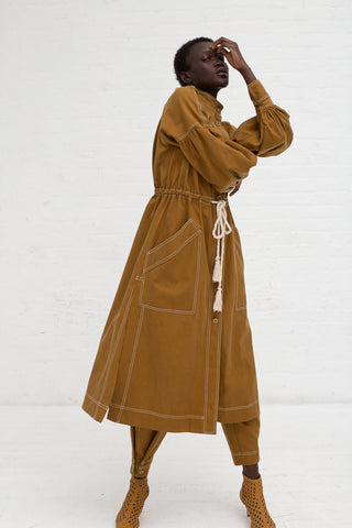 Ulla Johnson Cyril Trench in Olive | Oroboro Store | New York, NY