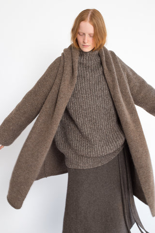 Rejina Pyo Capote Coat in Oatmeal | Oroboro Store | New York, NY