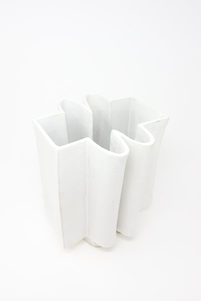 BZIPPY Wiggle Vase in Marshmallow | Oroboro Store | New York, NY