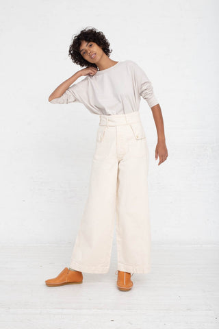 As Ever Willow Pant in Natural full front view