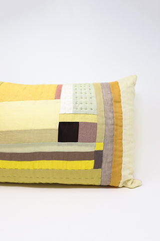 Thompson Street Studio Line Pillow in Yellow | Oroboro Store | New York, NY