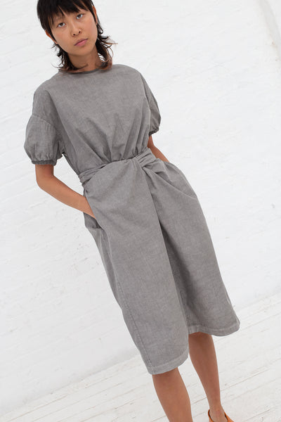 Wrapped Dress in Organic Cotton Sumikuro | Oroboro Store | New York, NY