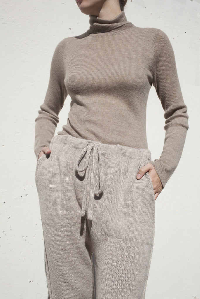 Lauren Manoogian Arch Pant in Oatmeal | Oroboro Store | Brooklyn, New York