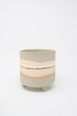 Ola Pot in Warm Pastels