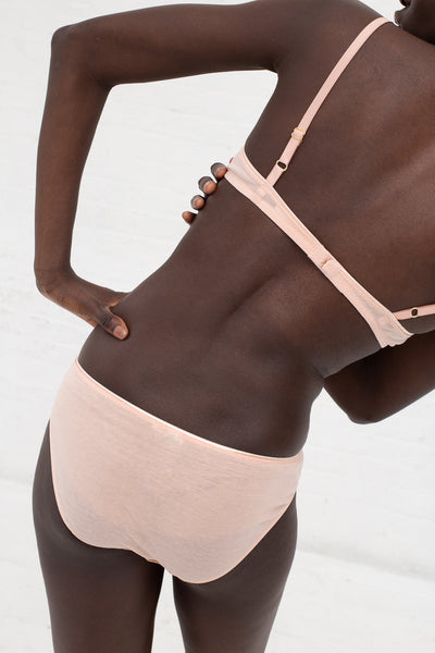 Araks Yanelis Bralett in Bare Back View On Body | Oroboro Store | New York, NY