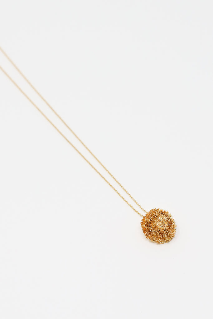 Mirit Weinstock Big Sparkling Star Pendant in Plated Gold