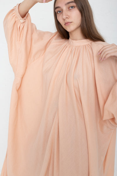 Marrakshi Life Touareg Dress in Blush on model view sleeve