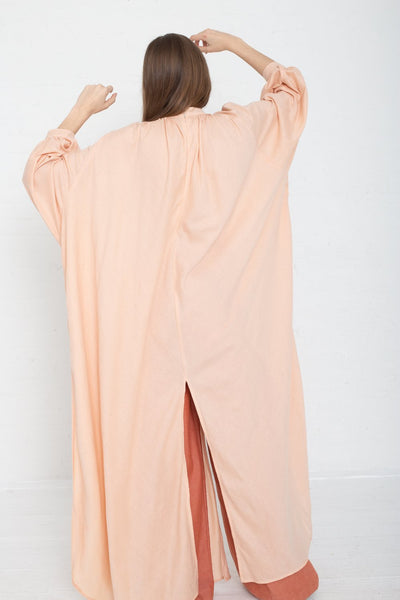 Marrakshi Life Touareg Dress in Blush on model view back
