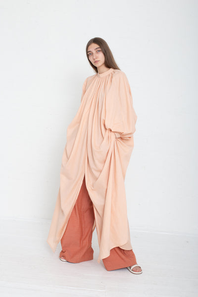 Marrakshi Life Touareg Dress in Blush on model view side