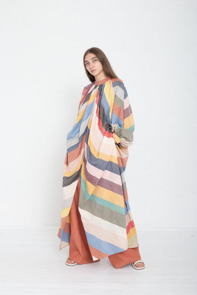Marrakshi Life Touareg Dress in Multi-color on model view front