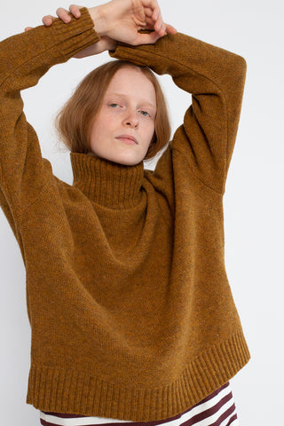 Ichi Antiquites Sweater in Mustard Wool | Oroboro Store | New York, NY