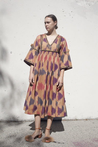 Sibi Dress in Ikat
