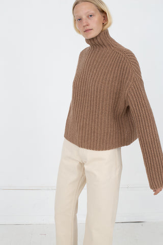 Studio Nicholson Pascal Sweater in Camel Merino Wool | Oroboro Store | New York, NY