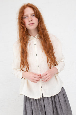 Ichi Antiquites Top in White | Oroboro Store | New York, NY