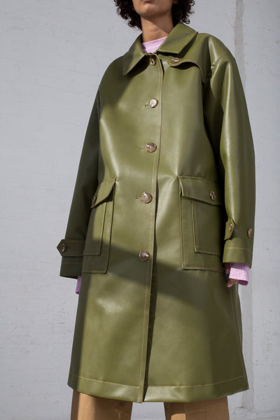 Rejina Pyo Joanna Coat in Sage Green front view
