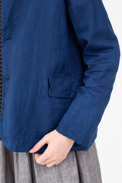 Ichi Antiquites Jacket in Indigo | Oroboro Store | New York, NY