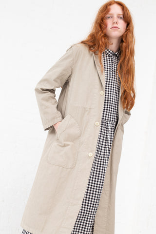 Ichi Antiquites Coat in Beige | Oroboro Store | New York, NY