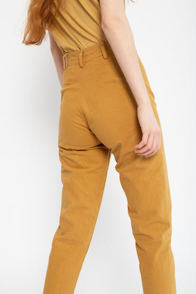 Jesse Kamm Ranger Pant in Wheat, Back View