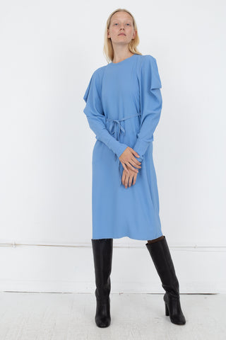 Veronique Leroy Dress in 61 Gauloise Bleu | Oroboro Store | New York, NY