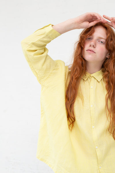 Ichi Antiquites Top in Lemon | Oroboro Store | New York, NY