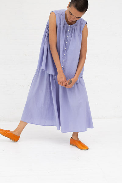 Nest Robe Ohmi-Zarashi Cotton Linen Gather Pants in Linen Flower | Oroboro Store | New York, NY