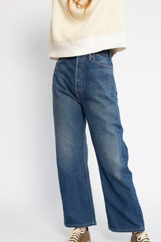 Chimala 5 Pocket Work Denim in Medium Wash | Oroboro Store | New York, NY