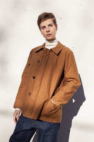 Chimala Unisex Tankers Jacket in Cognac | Oroboro Store | Brooklyn, New York