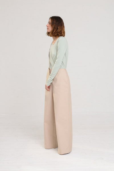 Nehera Puyso Traditional Pant in Beige on model view side