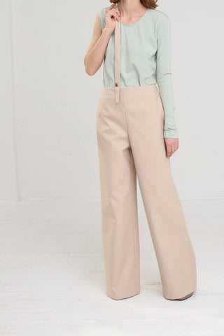 Nehera Puyso Traditional Pant in Beige on model view front
