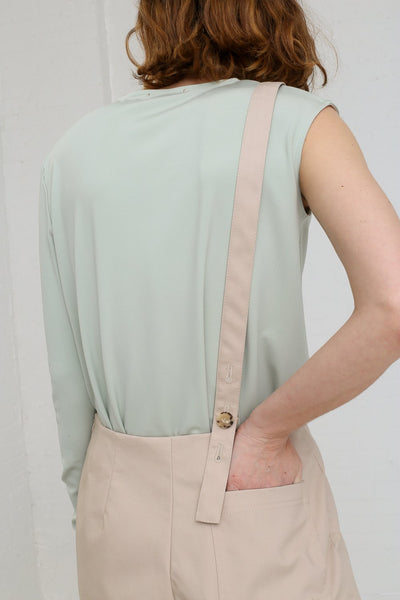 Nehera Puyso Traditional Pant in Beige on model view back detail