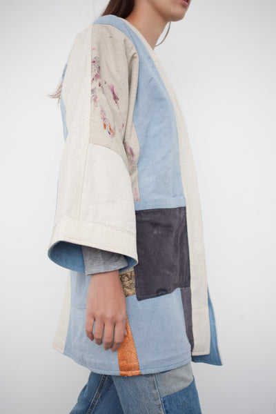 Jess Feury Patchwork Quilt Kimono Jacket | Oroboro Store | Brooklyn, New York
