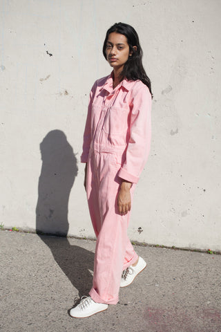 As Ever Zip Jumpsuit in Pink | Oroboro Store | New York, New York