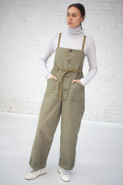 As Ever 40's Whipcord Overall in Olive | Oroboro Store | New York, NY