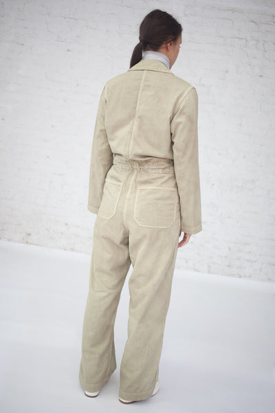 Zip Jumpsuit in Sage