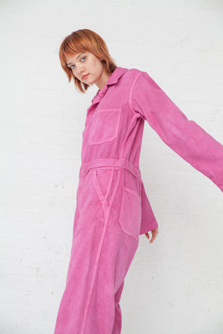 As Ever Zip Jumpsuit in Pink | Oroboro Store | New York, NY