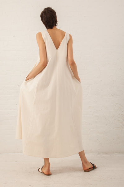 Shaina Mote Veritas Dress in Natural | Oroboro Store | New York, NY