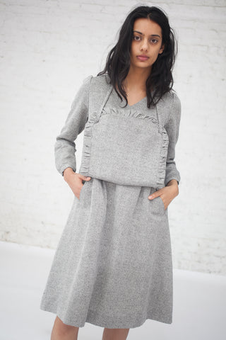 Eatable of Many Orders Aporia Dress in Grey | Oroboro Store | New York, NY