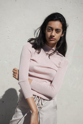 Ulla Johnson Rosie Turtleneck in Blush | Oroboro Store | New York, New York