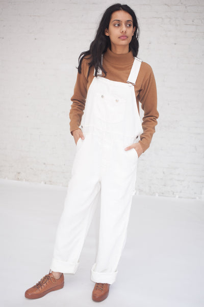 nest Robe Linen Denim Overalls in Shiloh | Oroboro Store | New York, NY