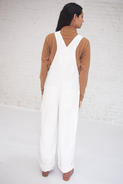 Linen Denim Overalls in Shiloh