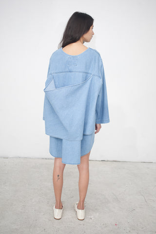 69 Everything Dress in Medium Light Denim | Oroboro Store | New York, NY