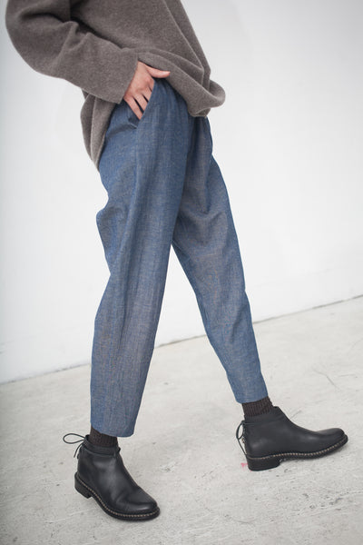 Rachel Craven Layering Pant in Chambray | Oroboro Store | New York, NY