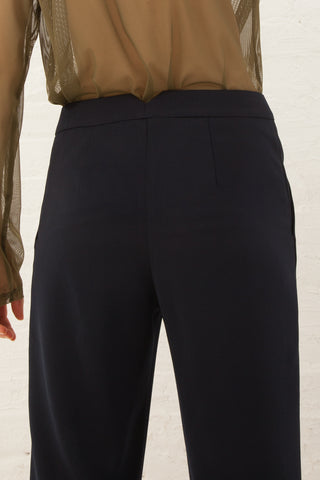 Nomia Cropped Trouser in Midnight | Oroboro Store | New York, NY