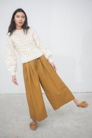 Ulla Johnson Sylvie Culotte in Ochre | Oroboro Store | New York, NY