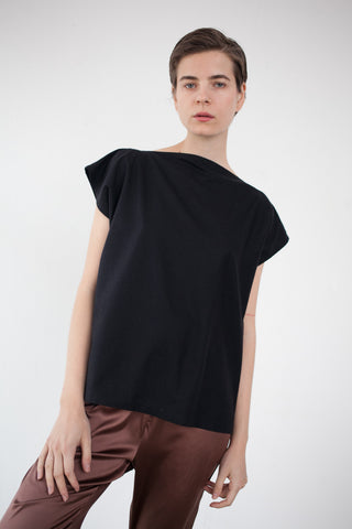 Base Range Shankar Tee in Black | Oroboro Store | Brooklyn, New York