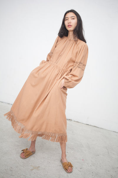 Ulla Johnson Kalea Dress in Clay | Oroboro Store | New York, NY