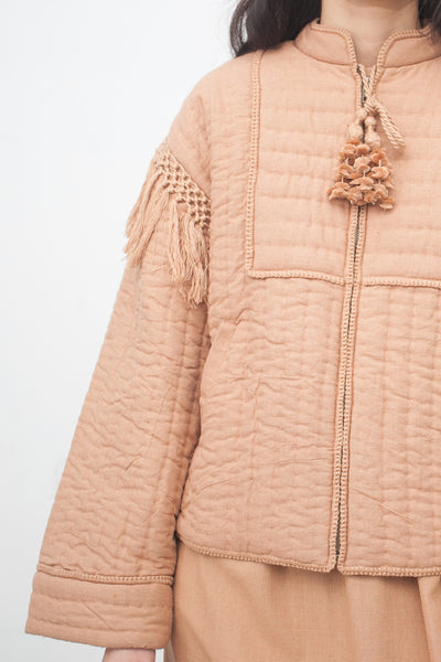 Ulla Johnson Kibo Jacket in Clay | Oroboro Store | New York, NY