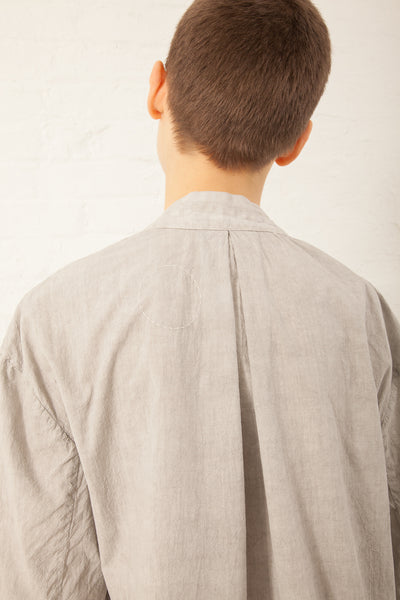 Cosmic Wonder Yama-Nokoromo Sashiko Haori Jacket in Light Sumikuro | Oroboro Store | New York, NY
