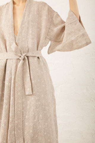 Cosmic Wonder Umi-Hagoromo Linen Dress in Natural | Oroboro Store | New York, NY